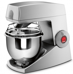 Bjørn Teddy køkkenmaskine i grå - 5 liter
