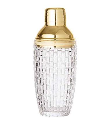 Bloomingville cocktailshaker med guldtop