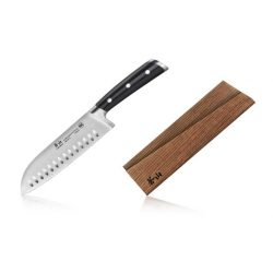 Cangshan ts-serie 1020687 - Santoku kniv m. luftskæt 18 cm