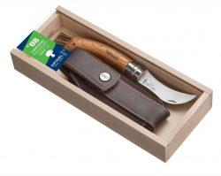 Champignon kniv med træskaft.
