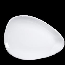 Discover Organic flad tallerken hvid fra Churchill