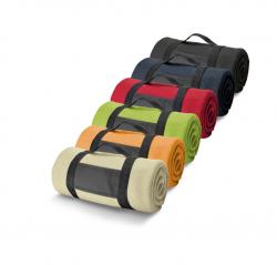 Flis tæppe - flere farver.