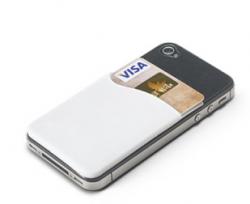 Kortholder til smartphones i silikone