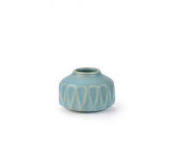 Lille vase - lys blå
