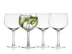 Lyngby juvel gin & tonic glas - 4 stk.