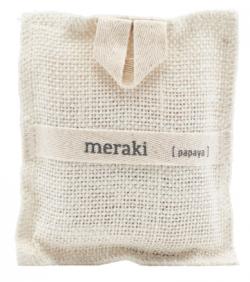 Meraki Bath Mitt - Papaya Jute