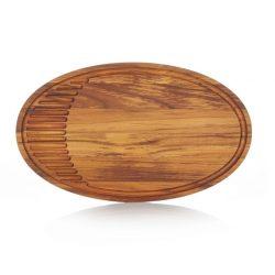 Risvig Design - Skærebræt 42 x 25 cm, teak træ