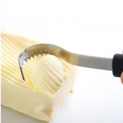 Smørkniv, krøllet - Hendi