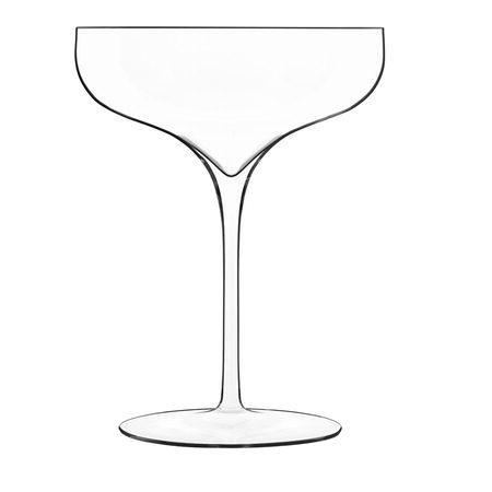 (2 stk) - LB Atelier Retro Champagneglas Vinea – 30 cl, klar – 15,3 cm.